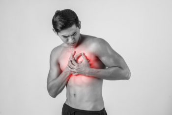 jonge man Hartinfarct symptomen